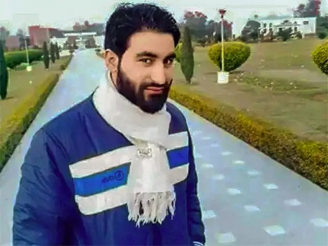 now that manan wani is no longer with us we have to carry his profound observations forward photo pti
