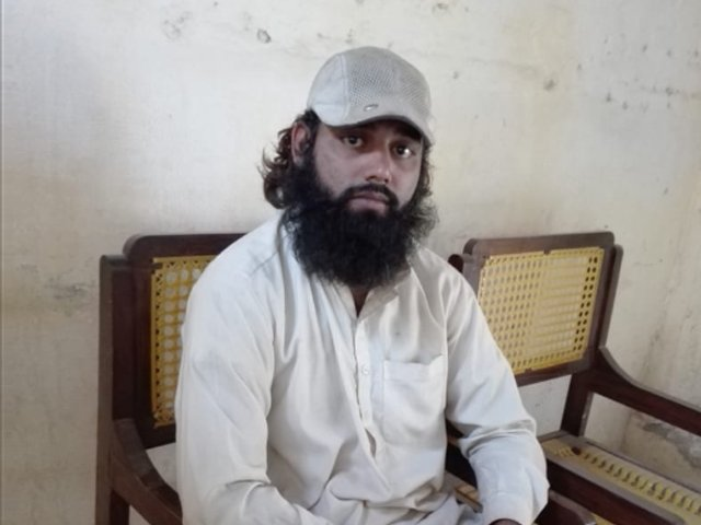 The man in the video has been identified as Anwarul Haq, a resident of the Jhang District in Pakistan. PHOTO: TWITTER/ SHIREEN MAZARI