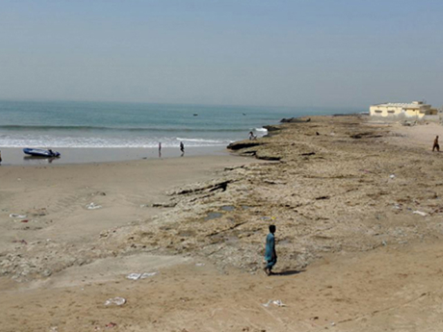 the sea is calling the crumbling reality of karachi s hawkesbay beach