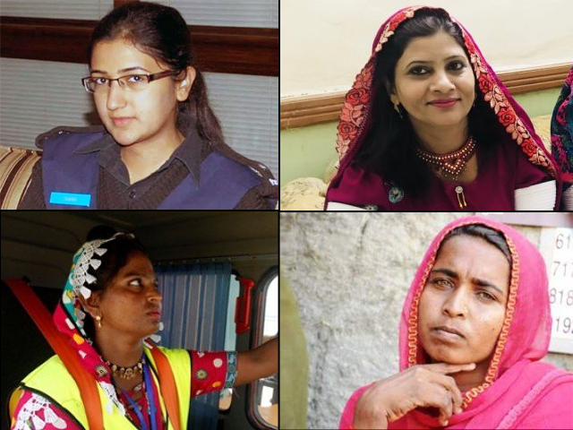 Some women in Sindh have broken the glass ceiling and not only fulfilled their dreams but have also inspired other women to chase their own.