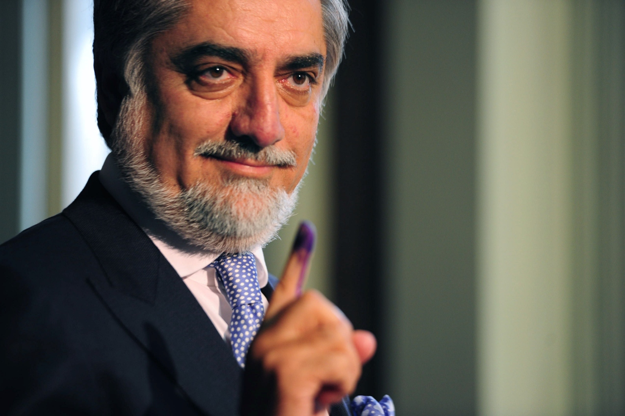 head of the afghanistan s peace council abdullah abdullah photo file