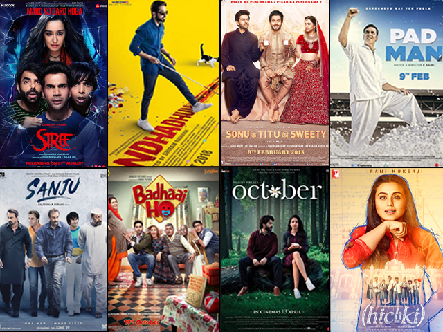 With quirky scripts being enough to keep the audience entertained, this year proved there's far more to Bollywood than we think.