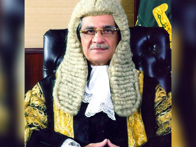 Most of Chief Justice Saqib Nisar's rulings have made him a hero in the eyes of the masses. PHOTO: FILE