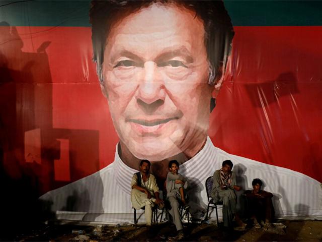 a campaign rally for imran khan 039 s pakistan tehreek e insaf in karachi on sunday july 22 2018 photo reuters
