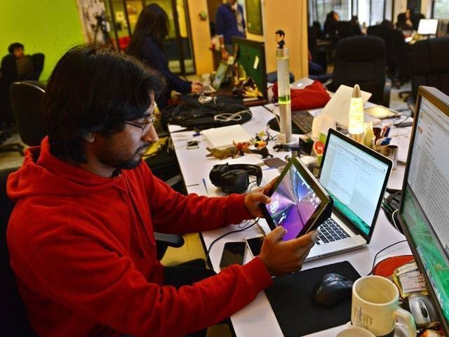 The actual amount of investment raised by Pakistani startups is $30 million. PHOTO: AFP