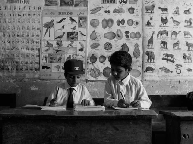 Students are often weak in mathematics as they don't have enough motivation to study the subject. PHOTO: ALIF AILAAN