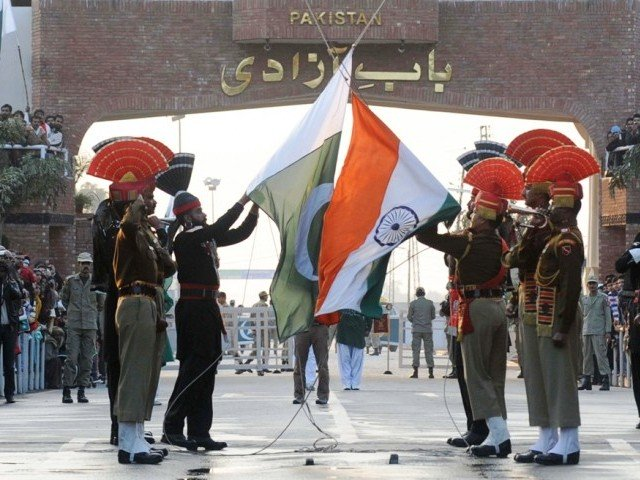 On December 21,2018, I crossed the white line at Wagah Border for the first time. PHOTO: AFP