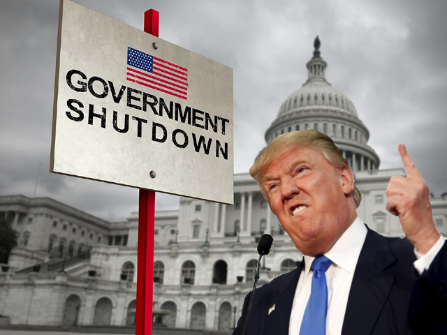 govt shutdown while the world is building bridges an isolated us stands alone behind walls