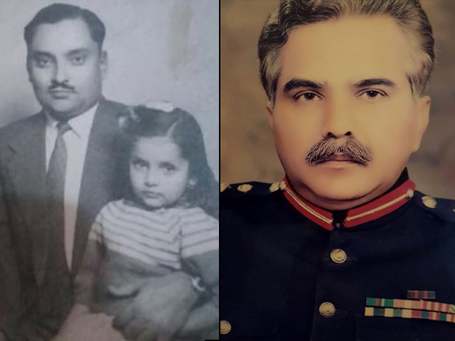 My father, a war veteran already, received many awards, including the Sitara-e-Imtiaz by the Pakistan Army, and retired as a Brigadier himself, just as his father-in-law did. PHOTOS: SABEER LODHI