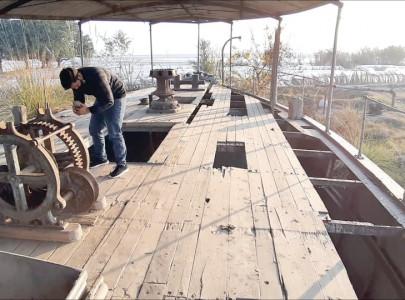 historic ship awaits restoration for tourism
