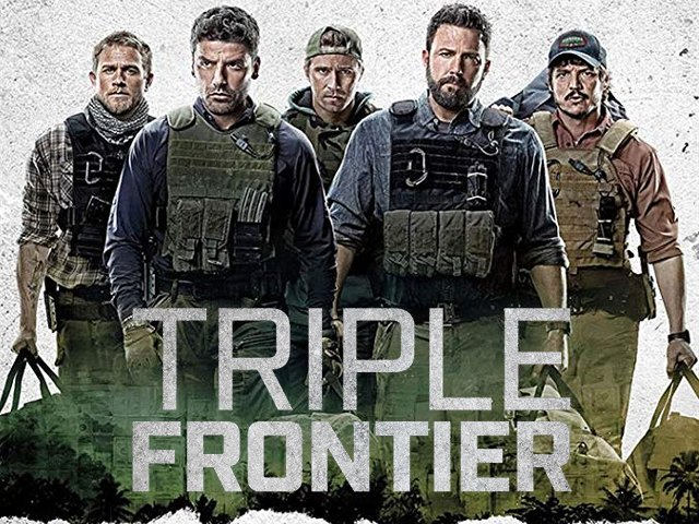 The movie revolves around a group of former special force operatives who reunite to plan a heist on a drug lord's safe house. PHOTO: IMDB