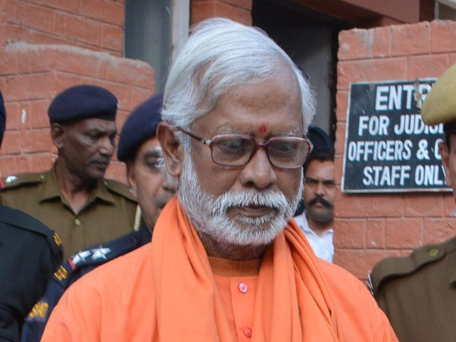 What is alarming for India's judicial system is Swami Aseemanand's confession, in which he admitted to wanting to teach Muslims a lesson. PHOTO: THE HINDUSTAN TIMES