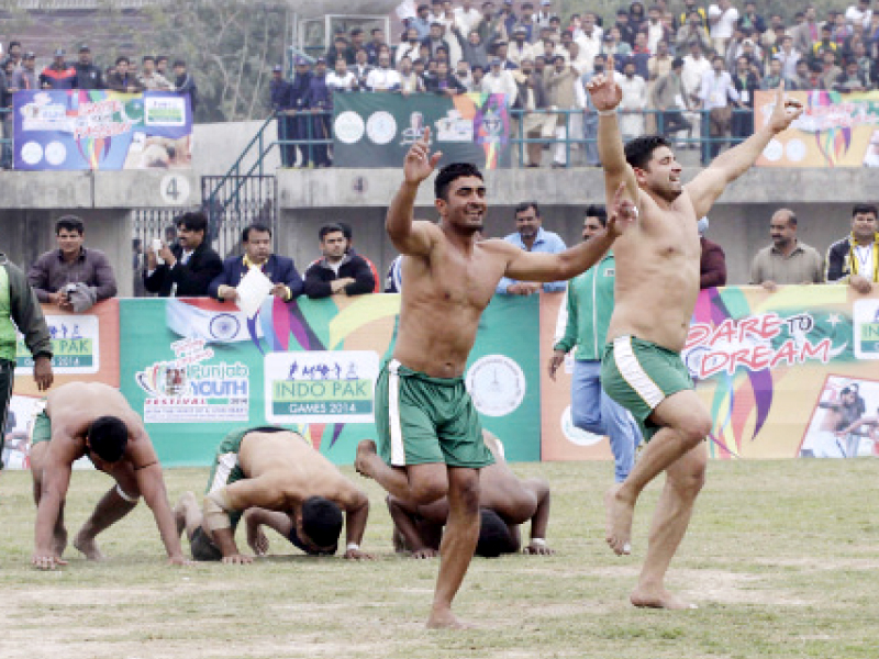 no cricket but pakistan india ready to face off in kabaddi