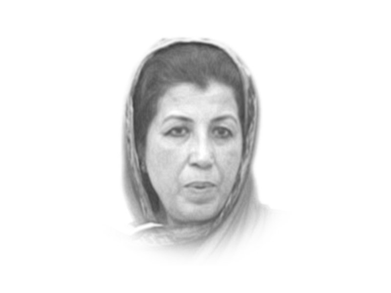 The writer is an expert on countering violent extremism and the Executive Director of PAIMAN Trust. She is also a former caretaker information minister of Khyber-Pakhtunkhwa