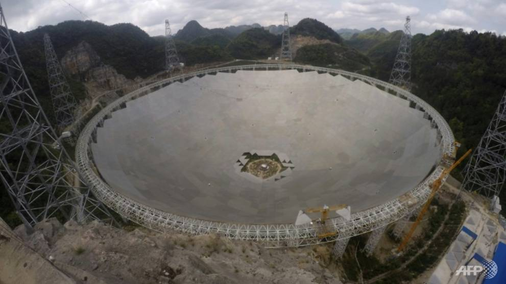 china to open giant telescope to international scientists