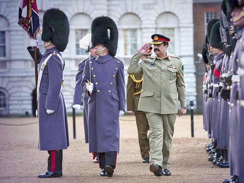 general raheel sharif reviews guard of honour in london photo app