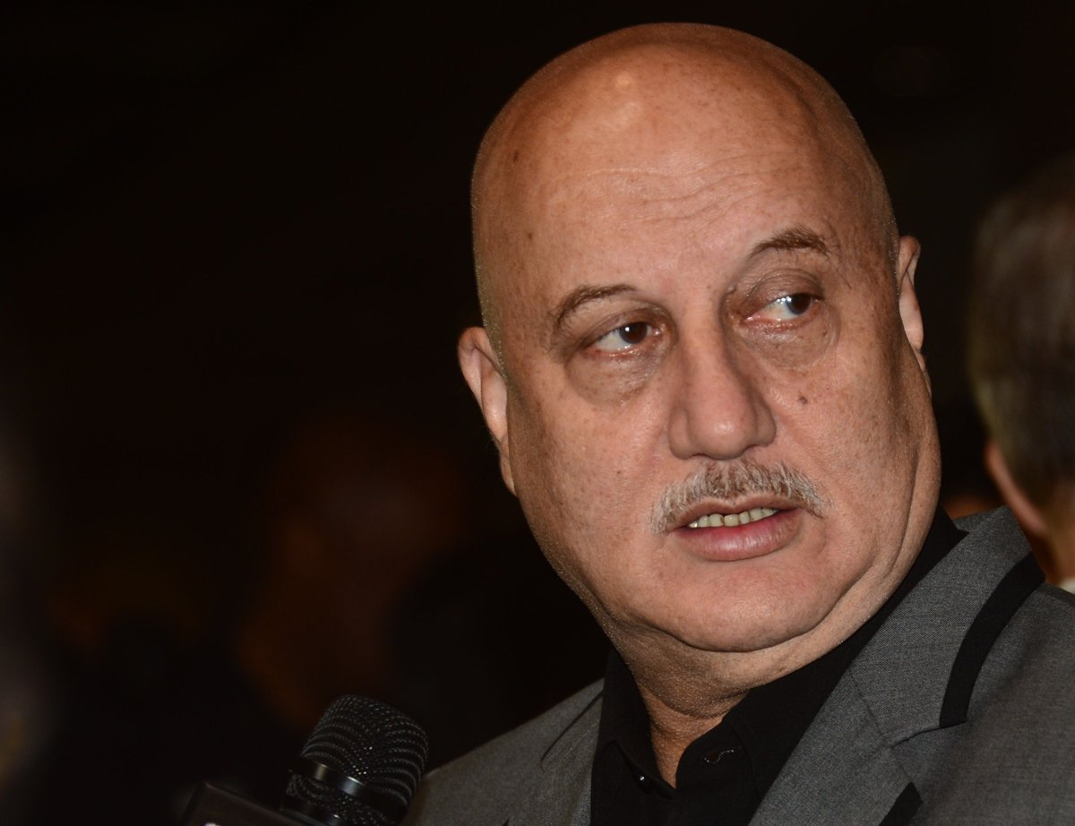 On the theatre front, Kher recently staged an autobiographical play titled 'Kuch Bhi Ho Sakta Hai'. PHOTO: AFP