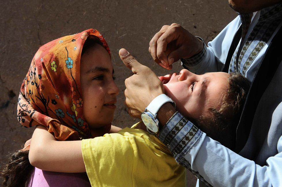 around 3 3m children to be vaccinated in 14 areas which constitute 88 per cent of the 303 cases recorded in 2014 photo afp