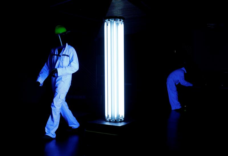 Japanese firm invents UV lamp killing coronavirus
