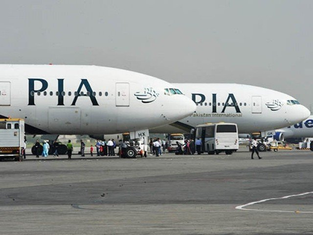 Flights to Britain, which is no longer in the EU, have not been affected, says PIA spokesperson. PHOTO: FILE