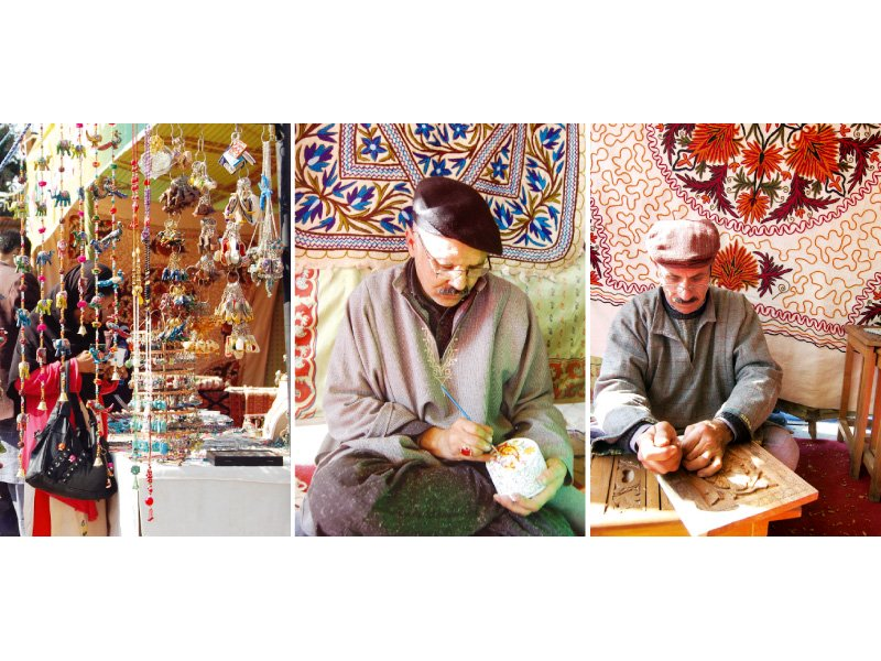 faraway land residents get a peek into kashmiri culture