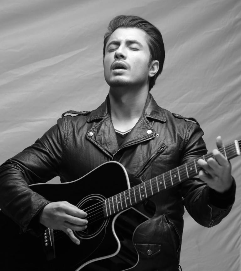 singer actor ali zafar photo publicity