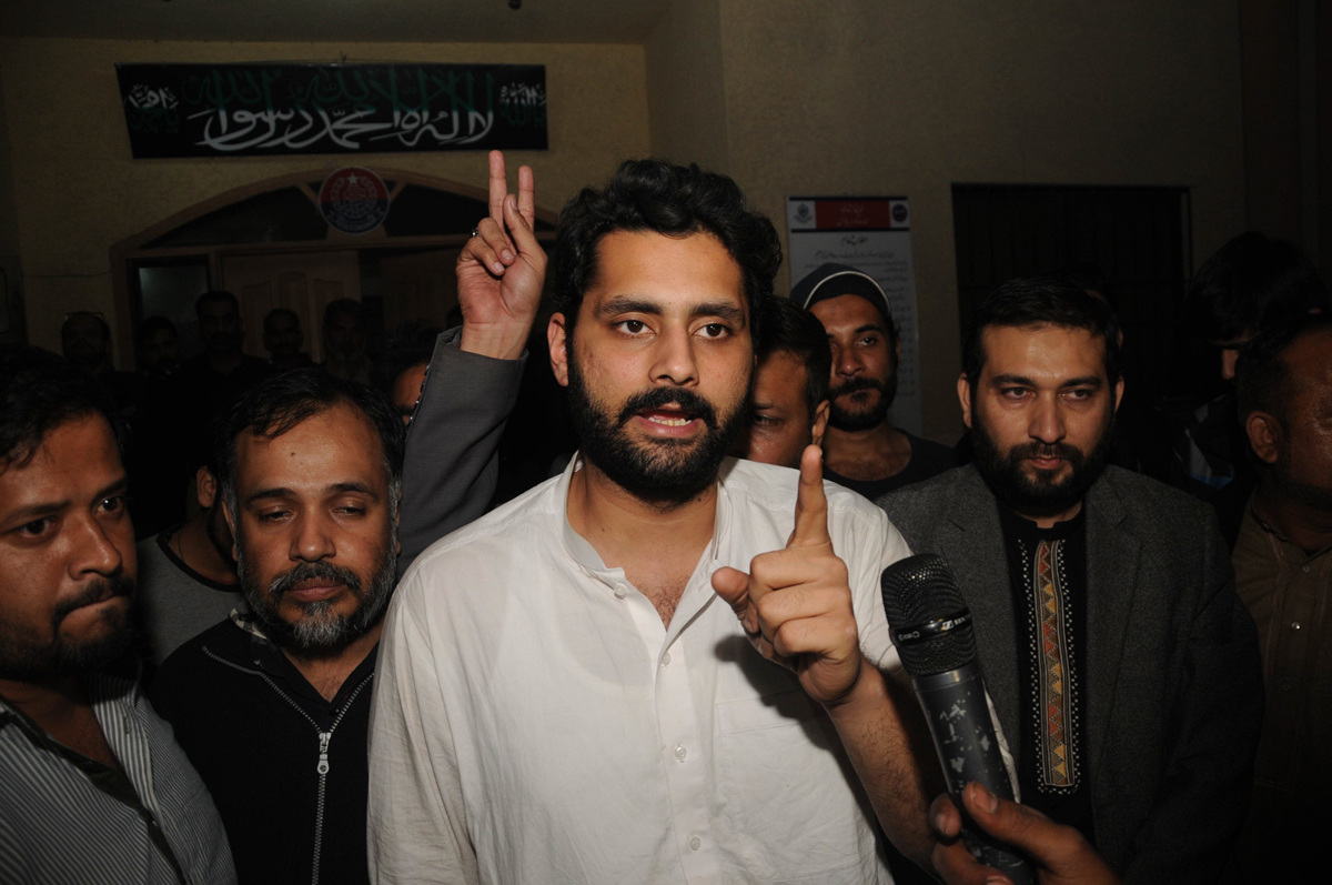 as mr nasir commented after his release allowing the aswj or any other banned organisation to openly carry out political activities is a violation of the law photo mohammad noman express