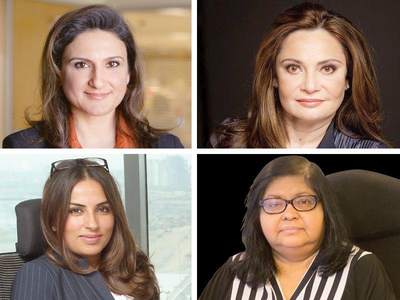 female corporate powerhouses in the corridors of power