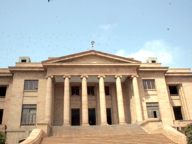 Sindh High Court . PHOTO: EXPRESS