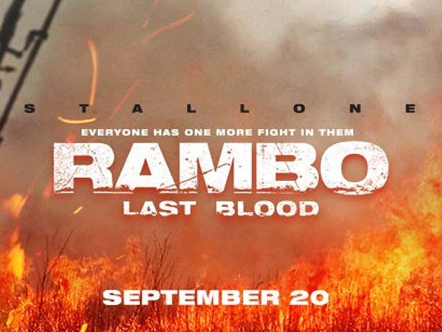Rambo: Last Blood is set to release on the September 20, 2019. PHOTO: FACEBOOK/ RAMBO
