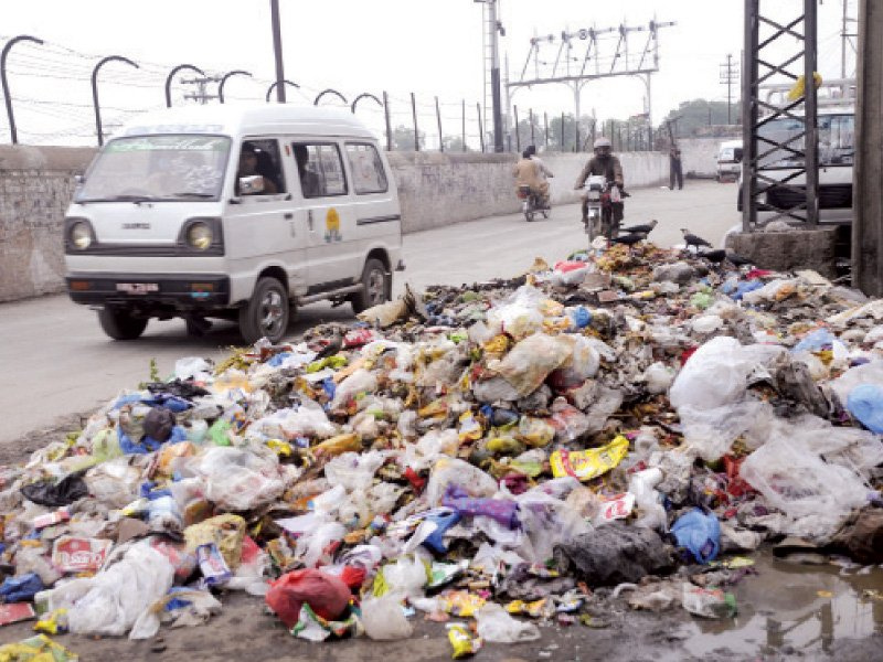 mounds of garbage add to city s troubles