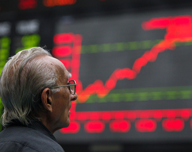 trade volumes rose to 261 million shares compared to 240 million on thursday photo reuters