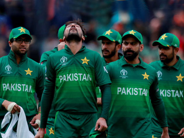 Australia were all out for 307 in 49 overs as Mohammad Amir finished with 30/5. PHOTO: REUTERS