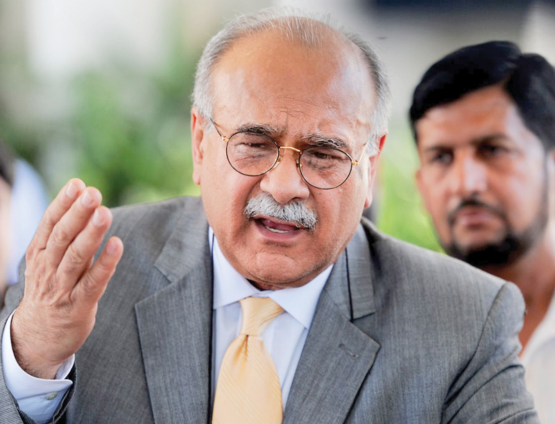 Najam Sethi. PHOTO: AFP