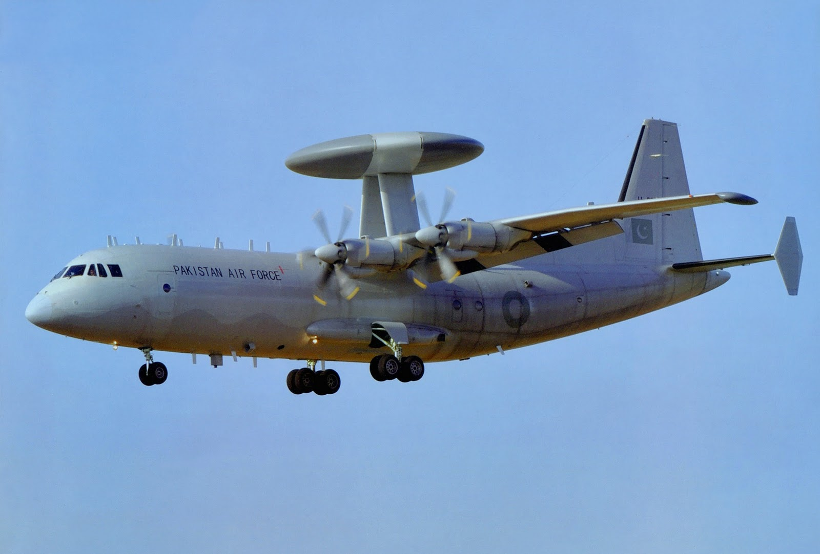Aircraft is capable of detecting hostile aerial, sea surface targets far before ground-based radars. PHOTO COURTESY: ASIAN DEFENCE