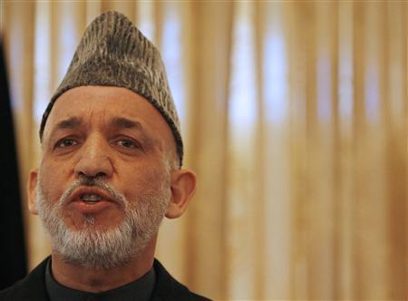 Hamid Karzai. PHOTO: REUTERS