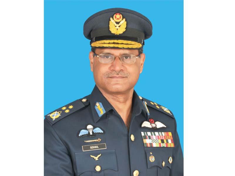 Air Marshal Sohail Aman.