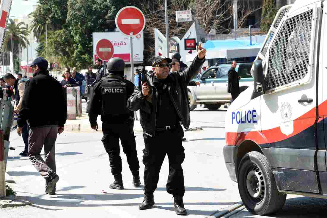 gunmen killed 17 foreign tourists two tunisians in a daylight attack in birthplace of arab spring photo courtesy npr
