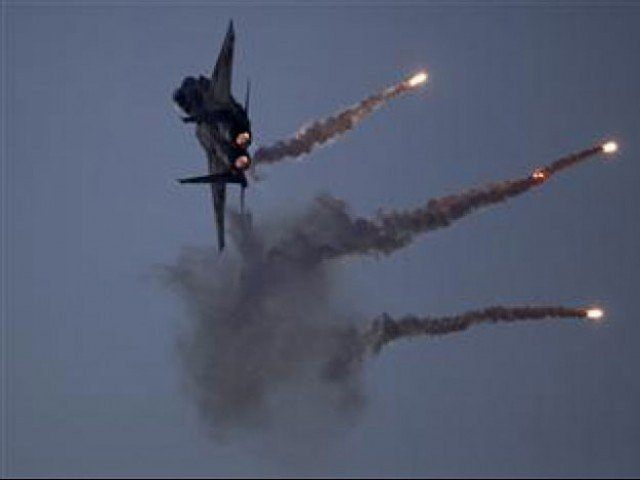 ispr says two arms and ammunition dumps also destroyed in the strikes photo afp