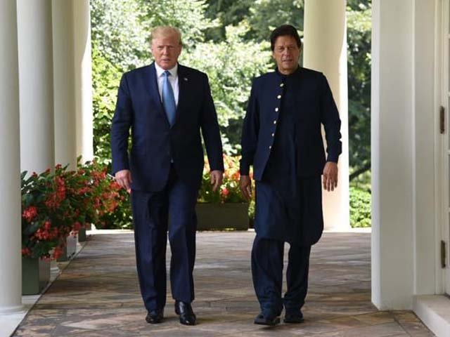 imran trump meeting a step in the right direction on the million mile journey