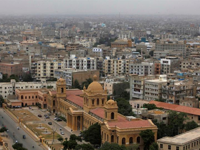 A city view of Karachi. PHOTO: REUTERS