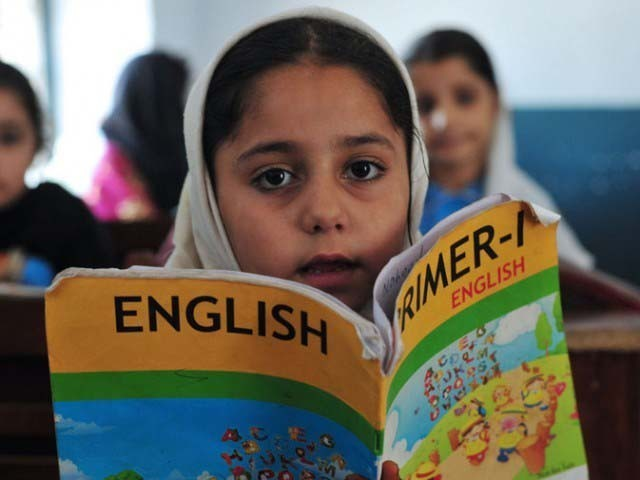 The budget for education has been growing a rate of 17.5% since 2010, according to the report by Wilson Center. PHOTO: AFP