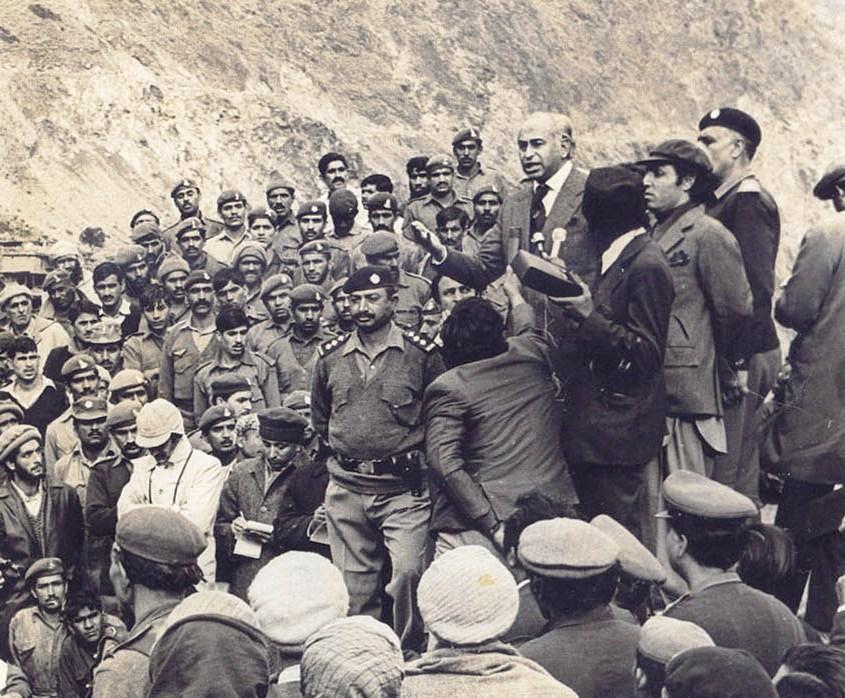 Former prime minister Zulfikar Ali Bhutto PHOTO: PID/FILE