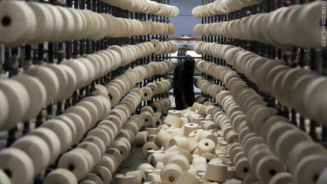 ministry of textile industry secretary apprised the committee that pakistan has a significant position in global cotton supply photo afp