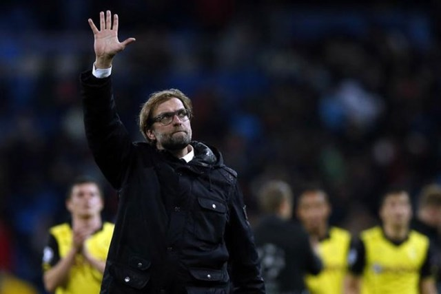 the fabled yellow wall will never forget klopp and klopp will never forget the yellow wall photo reuters