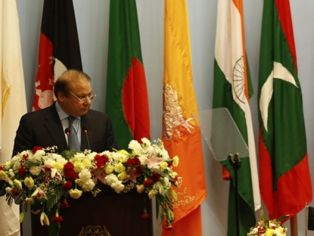 pakistan places poverty alleviation on top of saarc agenda the premier expresses photo afp
