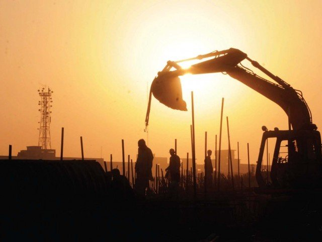 the lda was ordered by the court to remove the machinery which was brought on to the site stock image