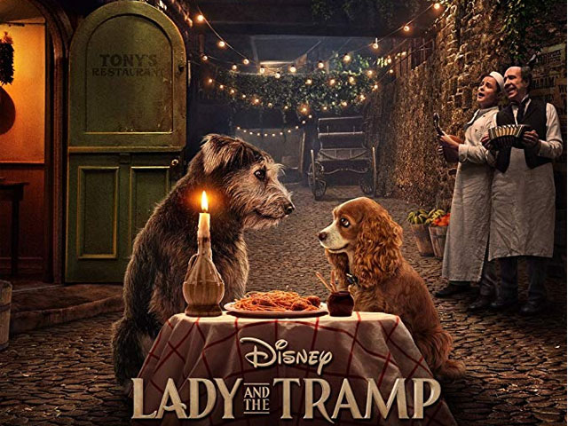 The new Lady and the Tramp will be released exclusively on Disney Plus on November 12, 2019. PHOTO: IMDb