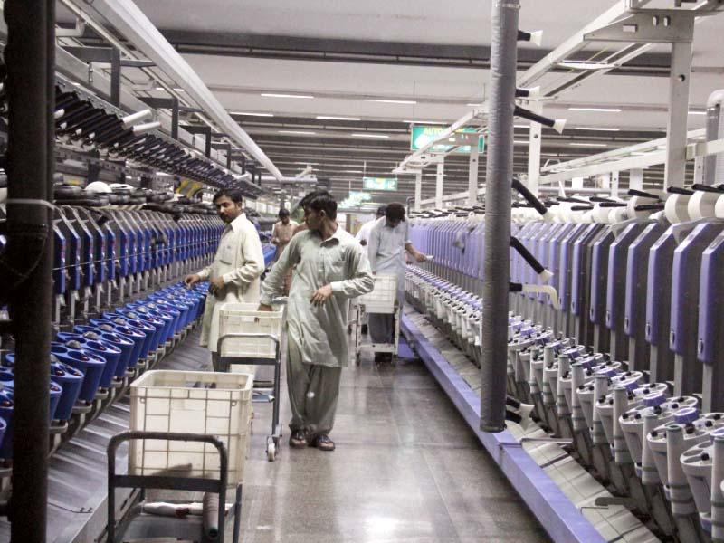 in almost all export categories pakistan has seen a negative growth in value and quantity photo ayesha mir express