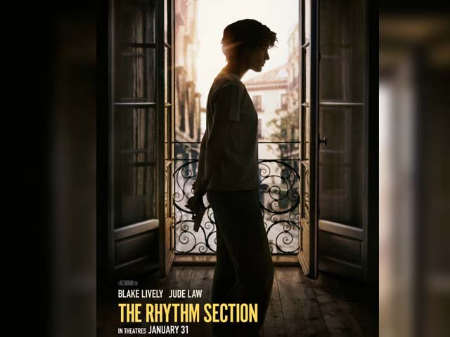 the rhythm section seems like an intense gripping thriller with a determined female protagonist photo imdb